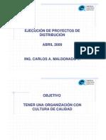 2_EJECUCION PROYECTOS DISTRIBUCION 2008-2009