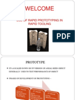 Use of rapid prototyping for rapid tooling_PPT