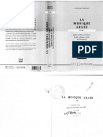 In French--La Musique Arabe--Tome 3 Part 1 by D'Erlanger