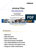 Technical Files - Maintenance for IMO and EPA Emission Compliant Engines