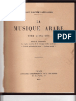 In French--La Musique Arabe--Tome 5 LIST of MAQAMS by D'Erlanger