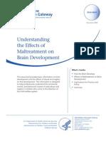 Maltreatment and Brain Development