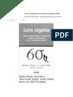 Resumen Six Sigma 2