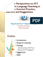 Lecturer Perspectives on ICT Uptake-Dec2011