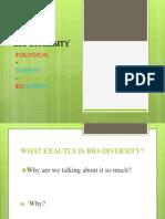 Ppt on Bio-diversity 2003