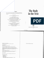 Cranny Francis Anne the Body in the Text