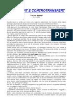 Ufo - Malanga, Corrado - Transfert E Controtransfert