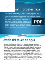 Central Hidroeléctrica expocicion GARY PORTOCARRERO TOVAR