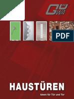 Guwa Haustueren-Katalog_2009 Redimensionat