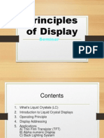 principles of display