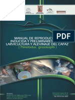 2 Manual de Reproducción Inducida y Preeliminares de Larvicultura y Alevinaje de Capaz