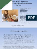 Informatii Despre Organizatia
