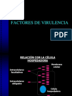 3 Factores de Virulencia