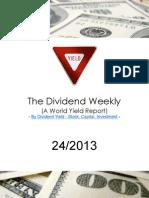 Dividend Weekly 24_2013