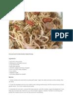 Coconut and Chili Kerabu Salad Recipe
