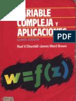 Churchill-Variable Compleja y Aplicaciones(libro)