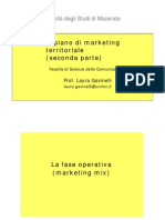 Il Marketing Mix Gavinelli