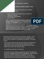 Presentación1 JUVENTUD CASTIDAD = DOMINIO PROPIO