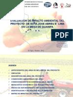 Presentacion EIA Proyecto Jose Abreu Elima