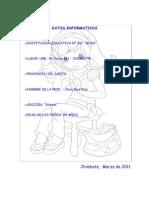 Carpeta Pedagógica 2011 - I.E. N° 302 Ruso -Chimbote