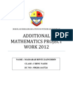 95055934 Add Math Project Work 2012