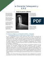 Catequesis y E.R.E (Documentos)