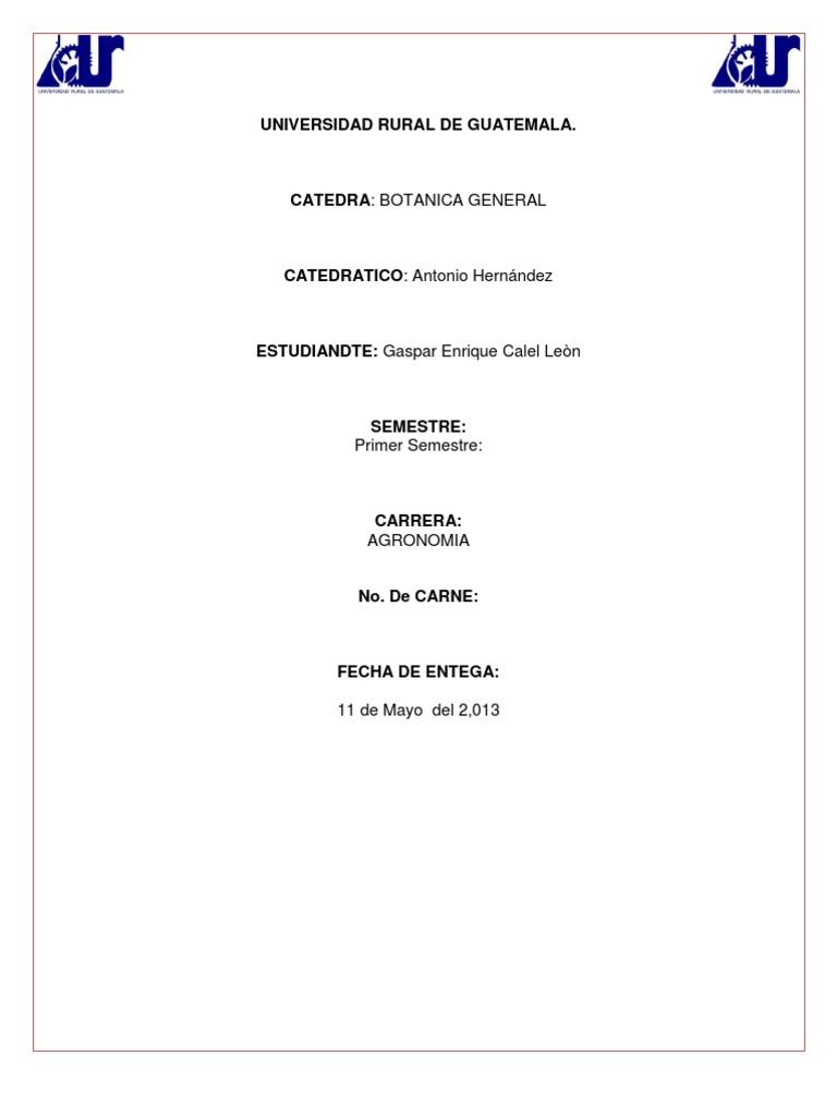 Botanica 11 for Botanica general pdf