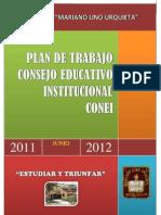 Plan de Trabajo de CONEI 2011-2012