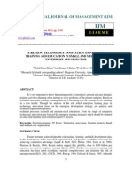 A Review Technology Innovation and Role of Training and Education
