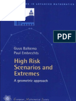 (Zurich Lectures in Advanced Mathematics )Guus Balkema-High Risk Scenarios and Extremes a Geometric Approach -European Mathematical Society(2007)