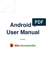 Android 4 User Guide