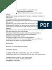 Selenium Resume real world selenium resume which gets more job interviews Selenium Resume Sample 1