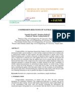 Compression Behaviour of Natural Soils