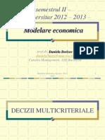 Decizii multicriteriale