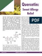 Quercetin Sweet Allergy Relief