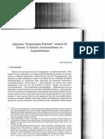 Texto - TED - Struchiner - Proposições fulcrais