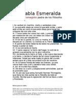 La Tabla Esmeralda