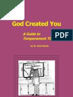 God created you