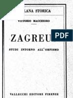 106478175 v Macchioro Zagreus Studi Intorno All Orfismo