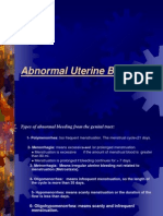 Abnormal Uterine