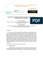 Estimation of Bridge Pier Scour for Clear Water & Live Bed Scour Condition