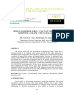 Optimal Placement of Dstatcom in an Indian Power System for Load And