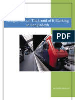 The Trend of E-Banking in Bangladesh