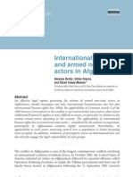 International Law and Armed Non-state Actors in Afghanistan