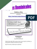 HOJITAS DOMINICALES