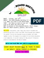 Save LAUSD's SRLDP Preschools for English Language Leaners