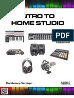 Intro to Home Studio