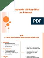 Busqueda Bibliografica en Internet