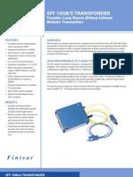 aNJYSd16TRAAU4MALCB 10Gbs 300pin SFF Tunable Long Reach Product Brief RevB