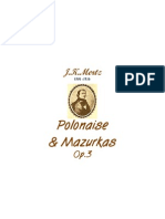 Mertz Johann Kaspar Polonaise Mazurkas 18275